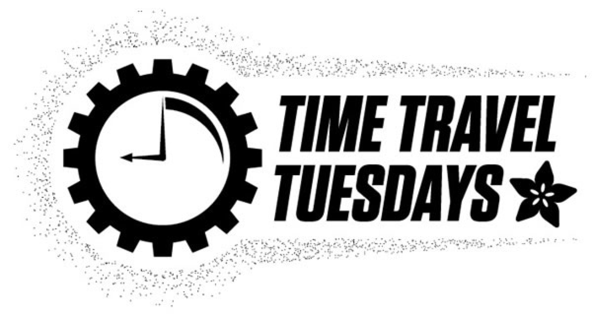 time travel tuesday  timetravel a look back at the