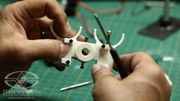 3D Metal Printer >> #3DxRobotics – How to make animatronic eye mechanisms – Design, 3D Printing and Assembly ...