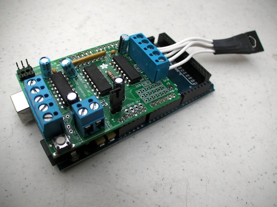 Afmotor Library For Arduino Mega Use The Motorshield