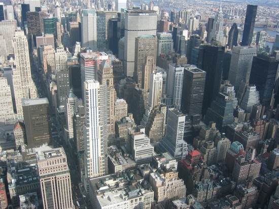 Nyc Manhattan From Empire State Building 2003