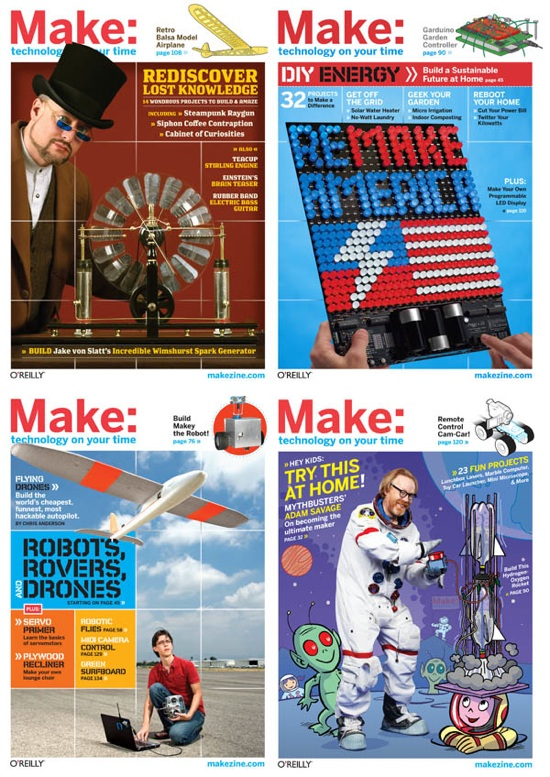 Upload 2009 12 Best Projects Of 2009 Make Magazine 2009Covers