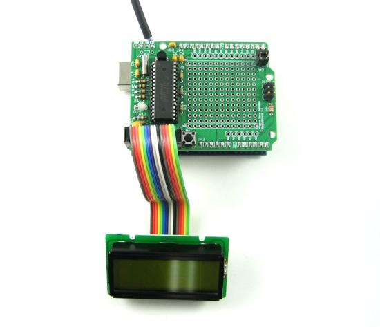ADK USB Host Servo Shield V20 for Arduino UNO