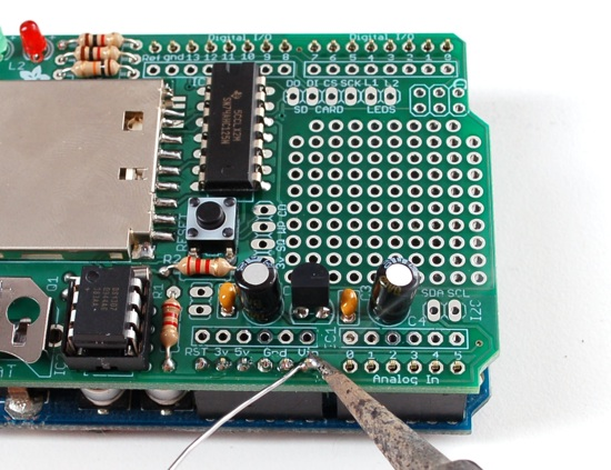 Data logger shield for arduino documentation is complete