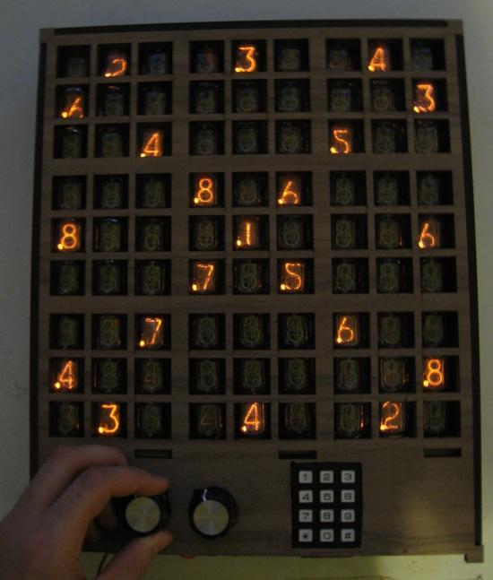 Nixie Sudoku « Adafruit Industries – Makers, hackers