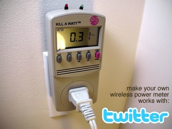 Tweet-a-Watt! A safe and simple wireless power monitor