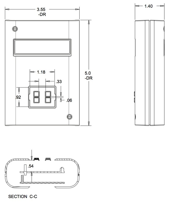 Dimensions of the enclosure for arduino pdf « adafruit