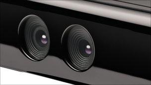 49911556 Close-Upofkinectsensors,Microsoft