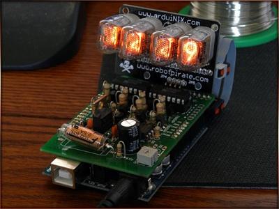 Arduinix Tubeboard Test2