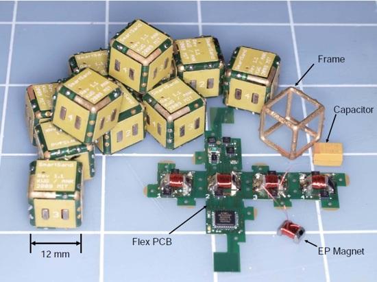 Programmable Matter Robot Pebbles Electropermanent Magnets 1