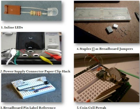 Five Cheap Breadboard Prototyping-W490