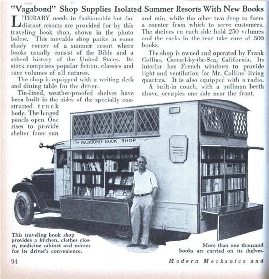 Lrg Book Shop Truck