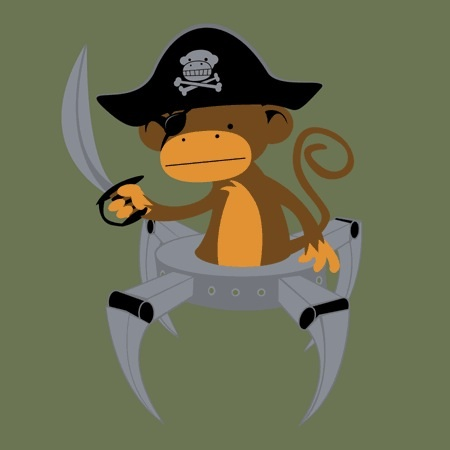 Pirate-Monkey-Robot
