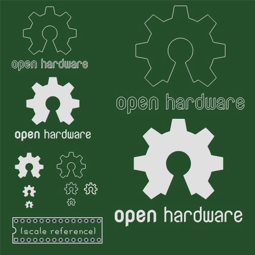 The Open Source Hardware Logo in gEDA PCB format « Adafruit ...