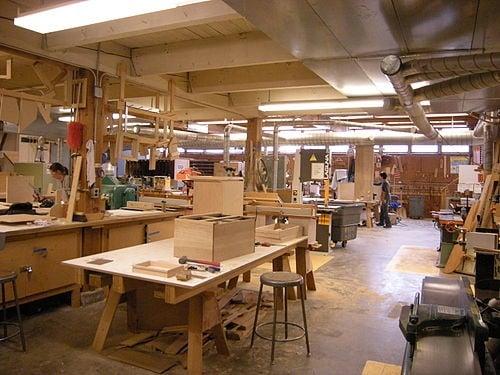 wood shop classes