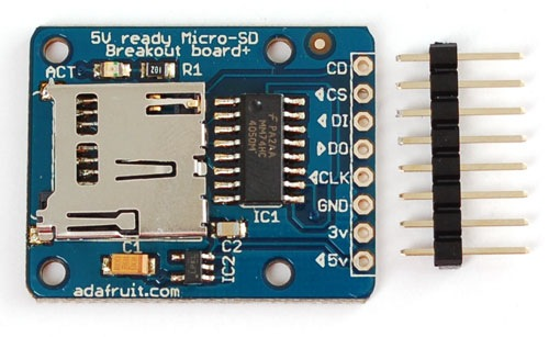 Tutorial Micro Sd Card Using Sd Cards With An Arduino