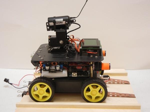 Arduino based security bot « adafruit industries makers