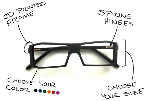 Make Eyewear – 3D printed eye glasses « Adafruit Industries ...