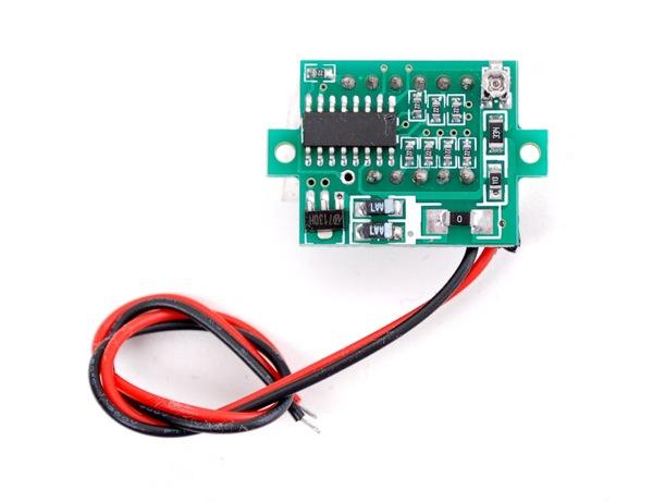 New Product Mini Volt Meter 171 Adafruit Industries