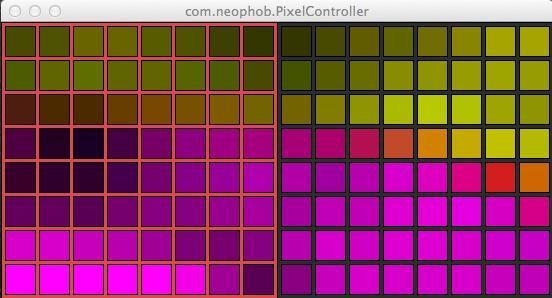 Pixelcontrollermatrixx
