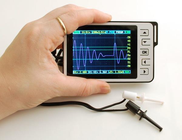 Best Digital Oscilloscope : New product dso nano v pocket size color digital