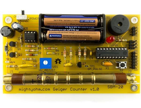 Geigercounterkit Lrg-1
