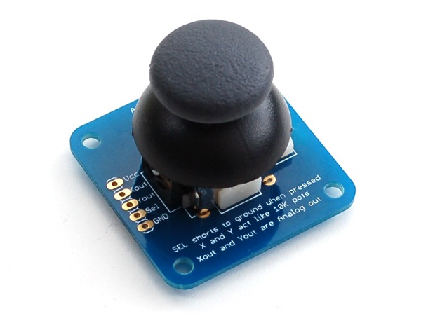 New product analog axis thumb joystick with select