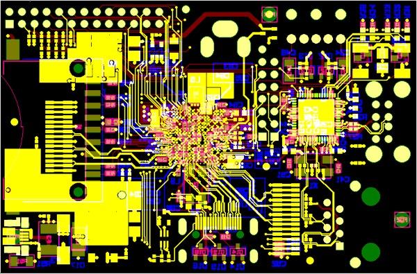 Final Pcb Artwork Of The Raspberry Pi 171 Adafruit