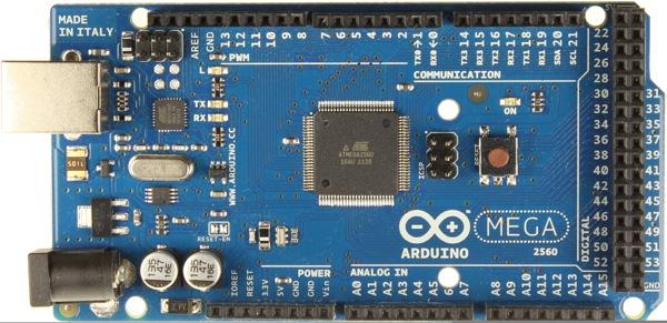 Arduinomega2560 R3 Front