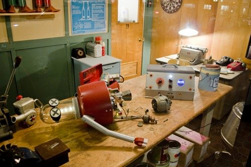 Robot Repairs And Improvements Robot Room