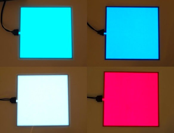 New Products Electroluminescent El Panels 10cm X 10cm