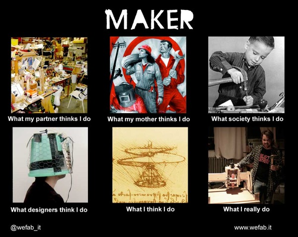 what my friends think i do adafruit industries makers hackers