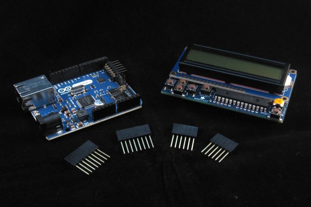 Ambient AQI RGB LCD Parts