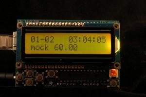 Ambient AQI RGB LCD Mock Moderate