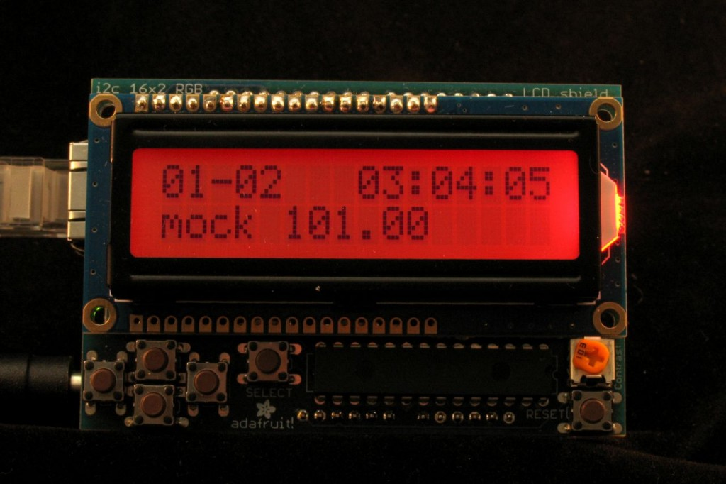 Ambient AQI RGB LCD Mock Poor