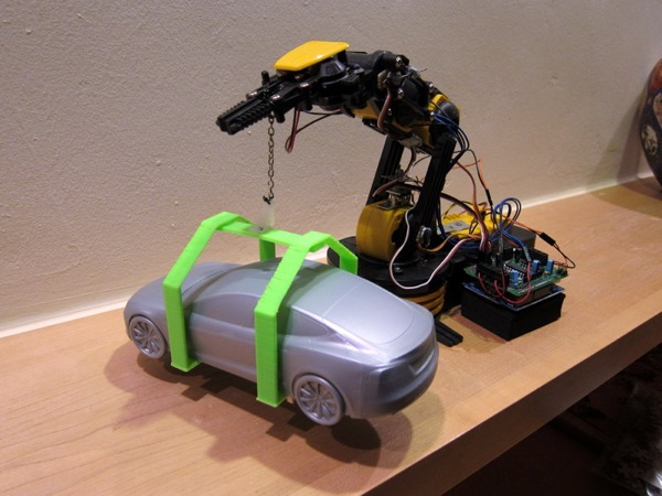 Tesla Model S and Ford Model T factories – 3D printed and Arduino