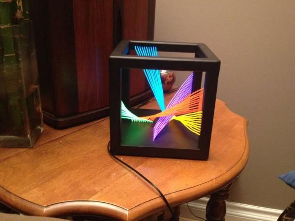 El Wire Cube Sculpture 171 Adafruit Industries Makers