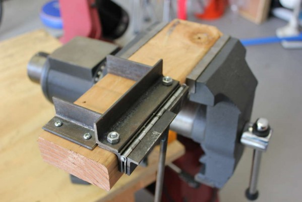 Homemade Mini Bend Brake 171 Adafruit Industries Makers