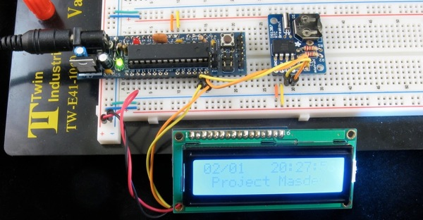 Building an Arduino LCD Clock « Adafruit Industries – Makers