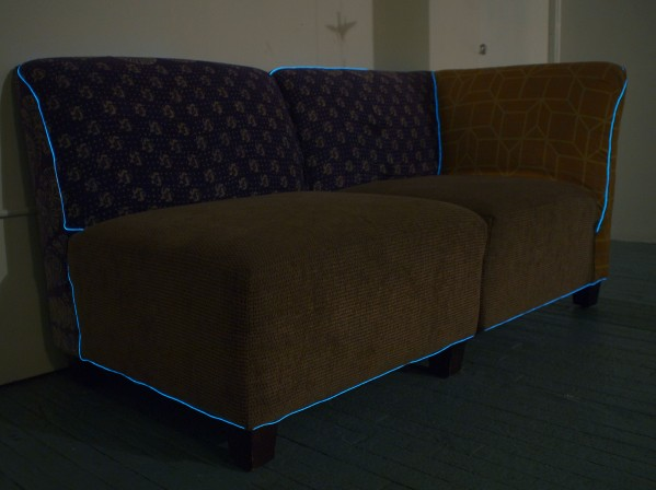 How-To: EL wire couch (video) « Adafruit Industries – Makers ...