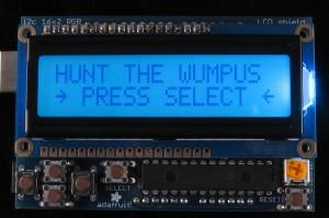 Hunt The Wumpus Splash Screen
