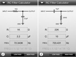 RCFilterCalc