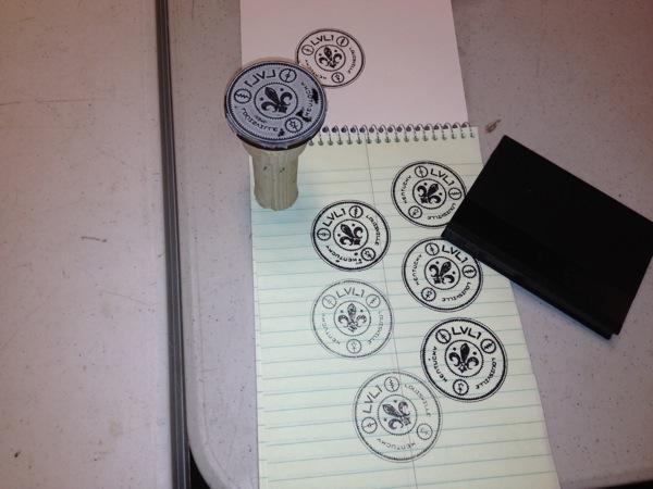 Lv1 stamp