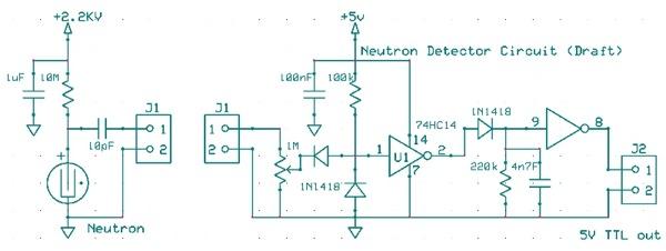 Neutron Detector Circuit