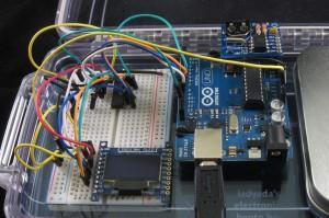 OLED Clock Protoboard