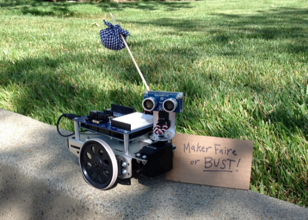 Boe shield bot sets out for maker faire bay area