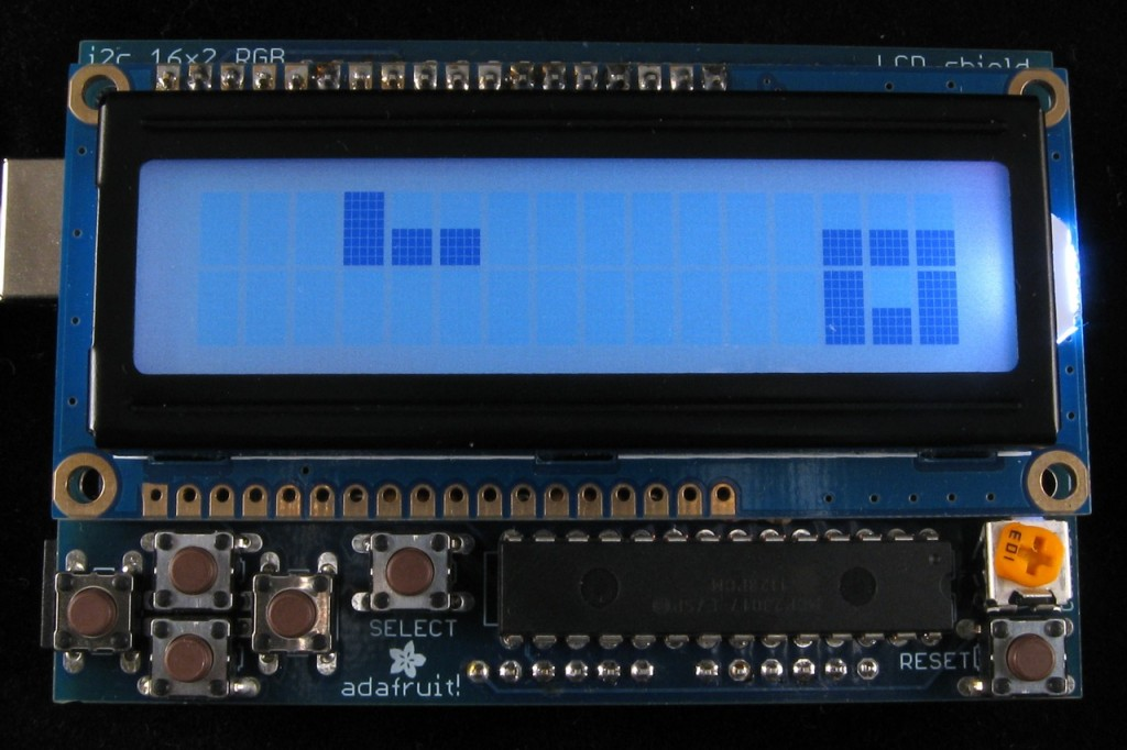 Tetris on an RGB LCD Shield