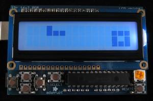 Tetris on an RGB LCD Shield