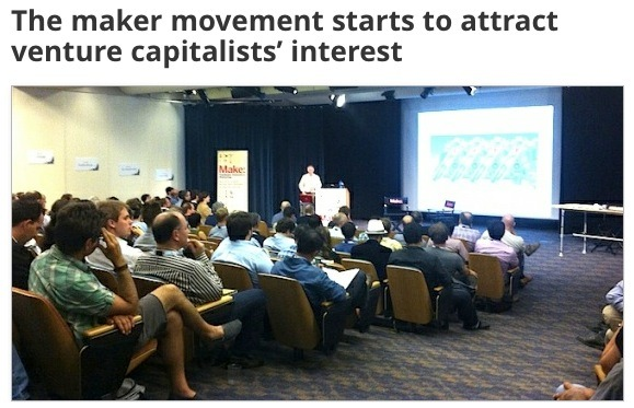 The Maker Movement Starts To Attract Venture Capitalists