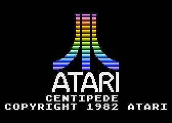 55100-Centipede-Atari-5200-Screenshot-Atari-Logo-And-Game-Titles
