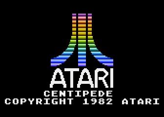 55100-Centipede-Atari-5200-Screenshot-Atari-Logo-And-Game-Titles